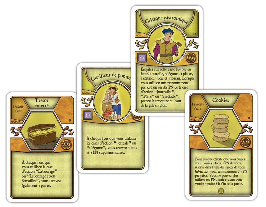 Quelques cartes d'Agricola