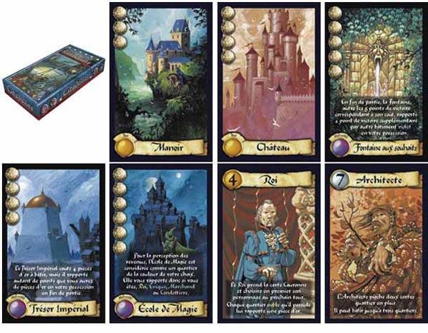 Les cartes de Citadelles
