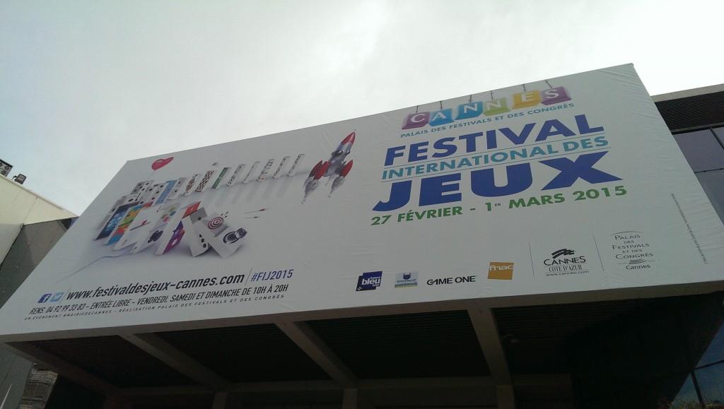 Festival des jeux à Cannes - 2015