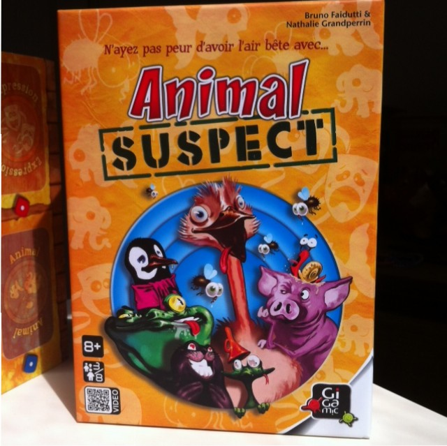 Animal suspect - Boite