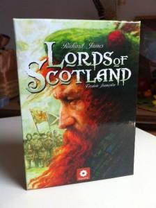 Lords of Scotland - Boite