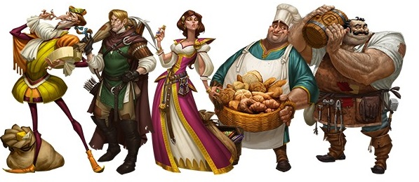 Sheriff Of Nottingham - Personnages