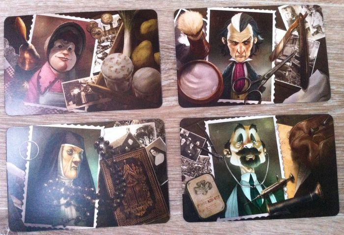 Mysterium - Personnages