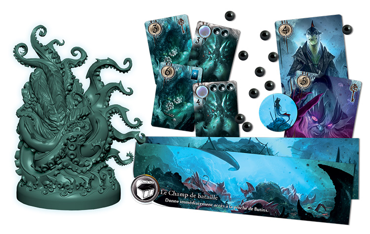 Abyss Kraken - Materiel
