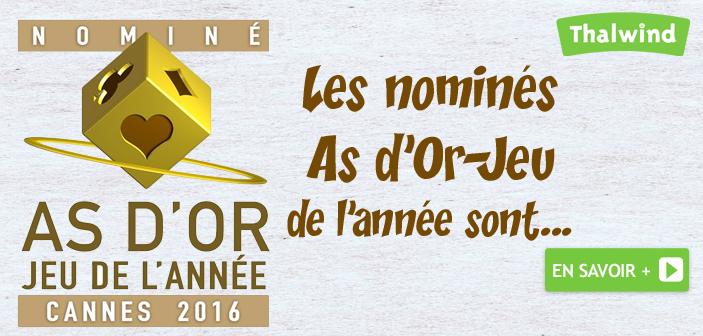 Les nominés As d'Or-Jeu de l'année