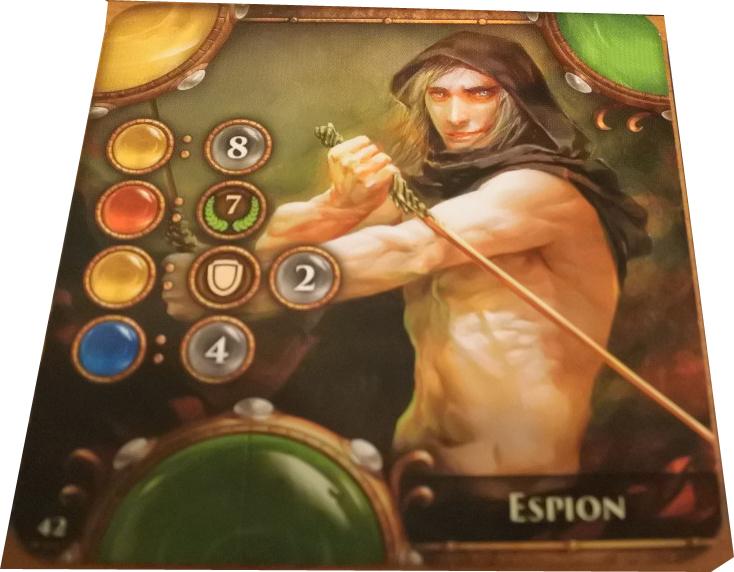 Carte personnage Espion
