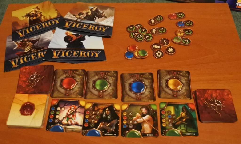 Le matériel de VIceroy