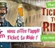 Voyages-SNCF offre l'appli du jeu Ticket to Ride