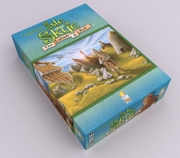 La boîte du jeu de Isle of Skye