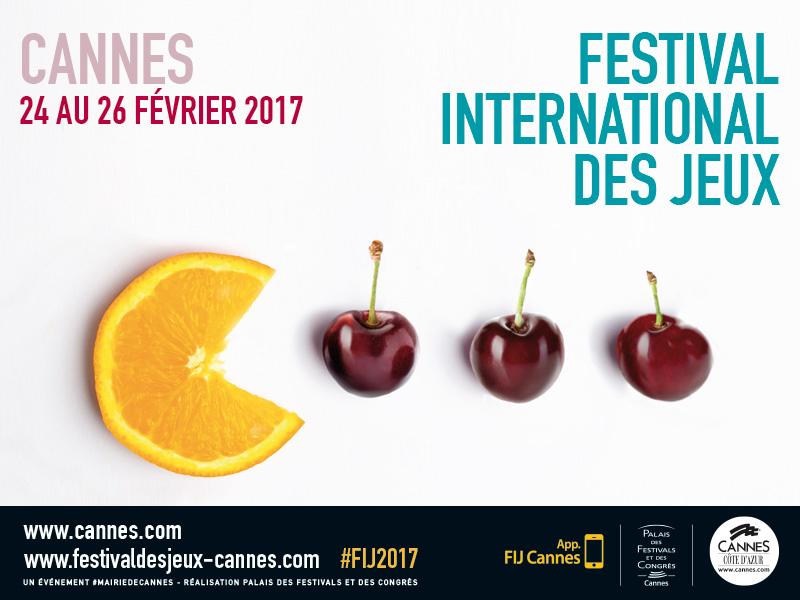 L'affiche du Festival International des Jeux de Cannes 2017