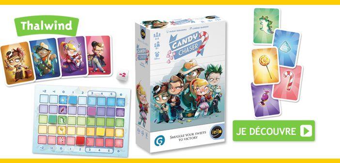 Candy Chaser : le 7ème Mini Games de chez IELLO