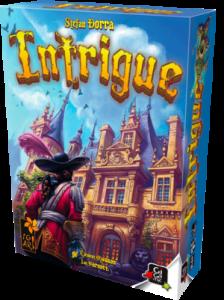 Boîte du jeu Intrigue