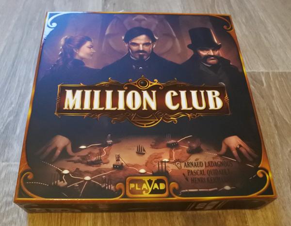 Boîte du jeu Million Club