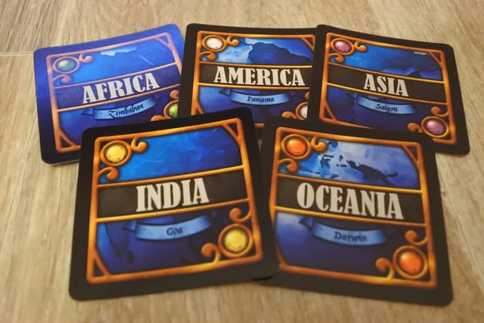 Les cartes Colonies