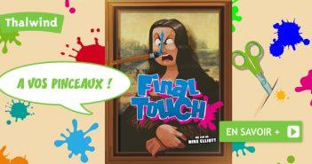 Final Touch, l'univers des peintres de Space Buddies