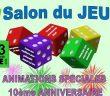 Salon du Jeu - 12 et 13 Novembre en Alsace