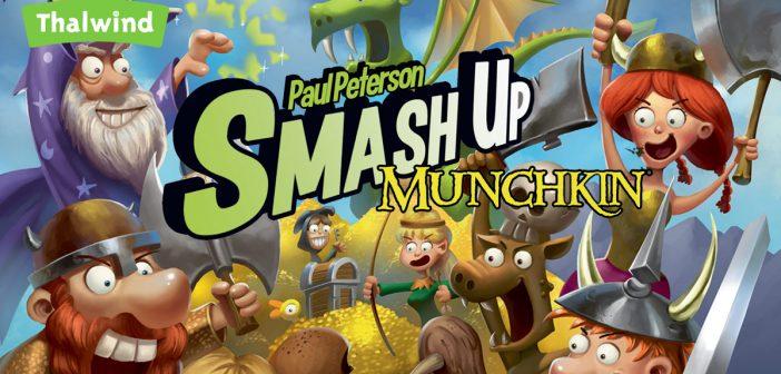 Sortie de Smash Up – Munchkin