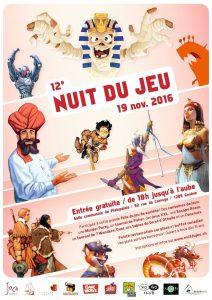 12e Nuit du Jeu organisée par Joca