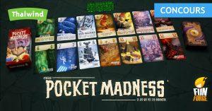 Concours Pocket Madness de Funforge