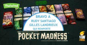 Les gagnants du concours Pocket Madness