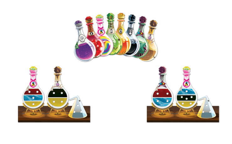 Potion Explosion - Potions