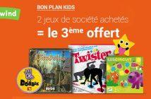 OP Kids Fnac - 2 jeux achetés, le 3ème offert