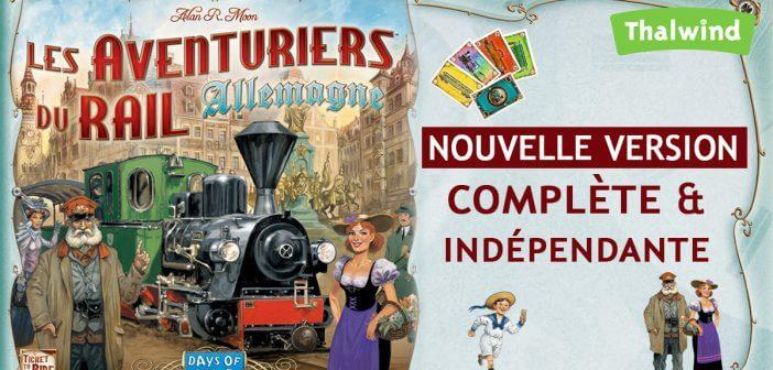 Days of Wonder annonce la sortie des Aventuriers du Rail – Allemagne