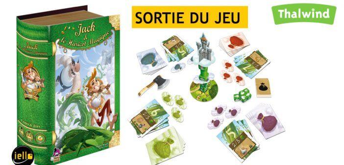 Sortie du jeu Jack et le Haricote Magique de Iello