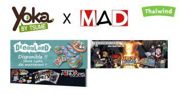 MAD distribue les jeux de Yoka
