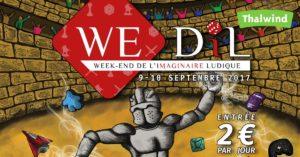 Week-End de l'espace de Développement de l'Imaginaire Ludique 2017