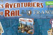 Les Aventuriers du Rail - France