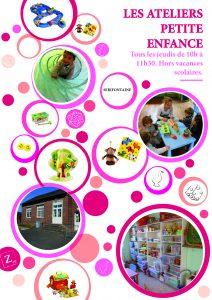 Ateliers jeux et jouets - Petite Enfance