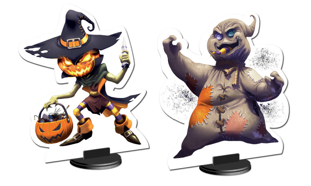 King of Tokyo - Halloween Personnages