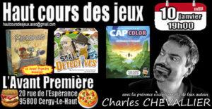 Cergy Le Haut (95) – Soirée jeux : mercredi 10 janvier