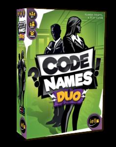 Boîte du jeu Codenames Duo