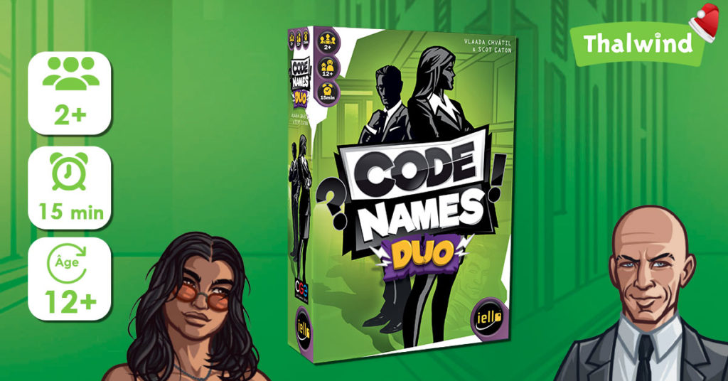 Codenames Duo de Iello