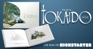 The Art of Tokaido sur Kickstarter