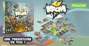 Krom, une préhistoire de fou sur KissKissBankBank