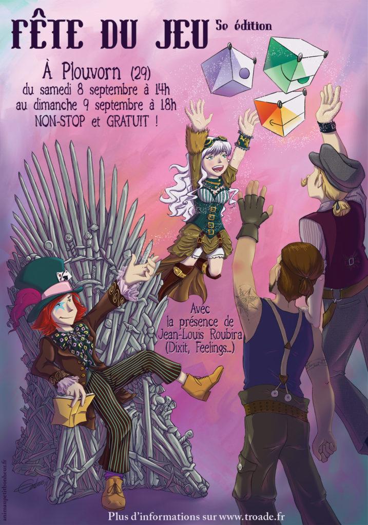 Affiche du festival Fête du Jeu