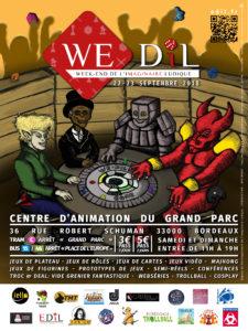 Le WE-DIL: Le Week-End de l'Imaginaire Ludique 2018
