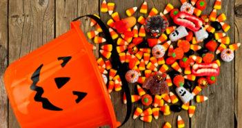 Les bonbons et les jeux pour Halloween