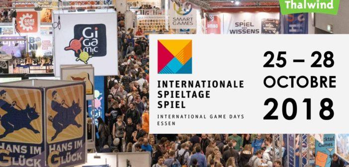 Internationale Spieltage Spiel 25-28 Octobre 2018