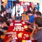 Nos premiers joueurs au Festival du jeu de Vauréal