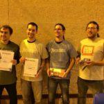 Les vainqueurs du tournoi de 7 Wonders