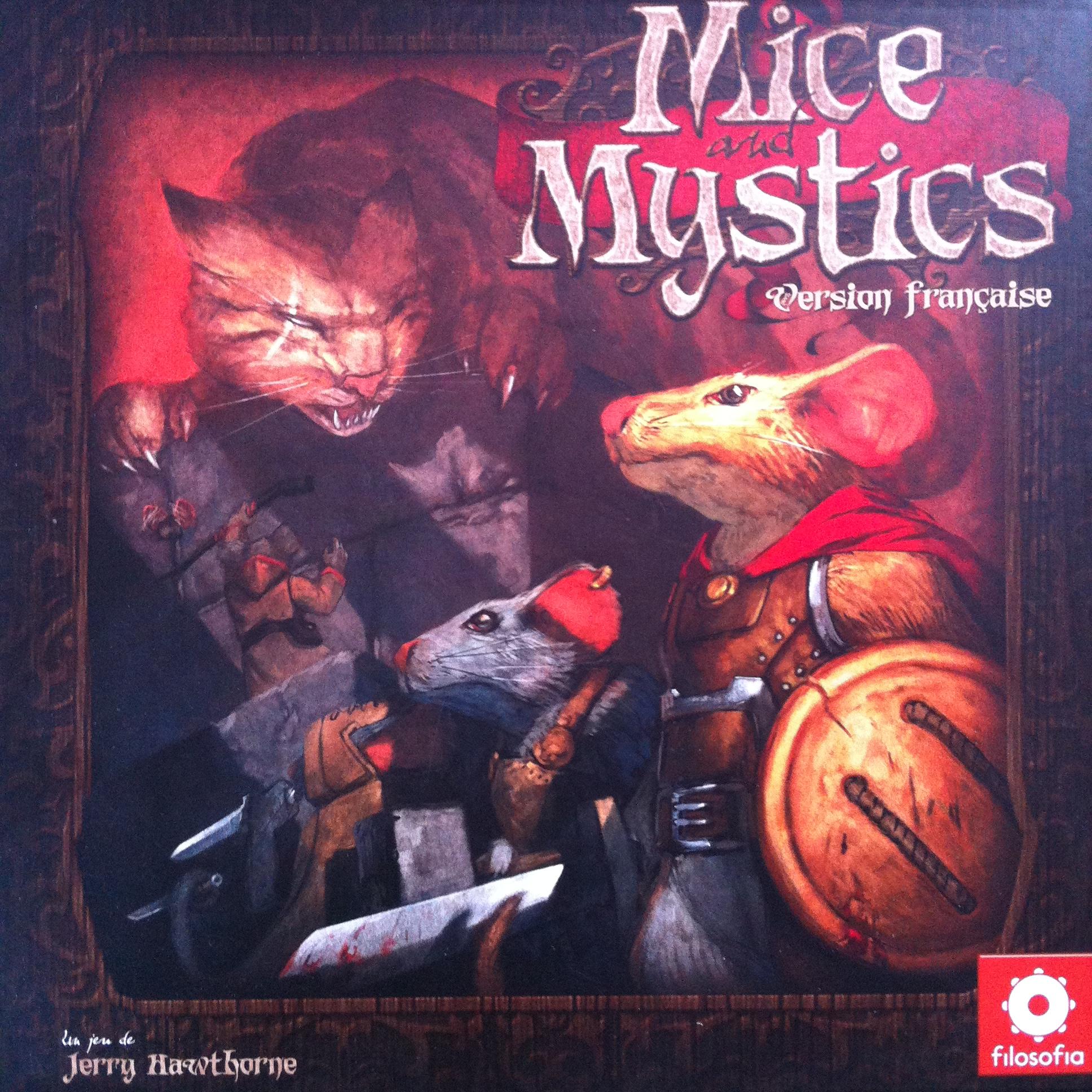 Mice and Mystics - Boite