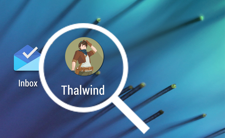 Tutoriel mobile Thalwind