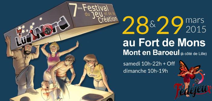 Ludinord - Festival du Jeu et de la Création
