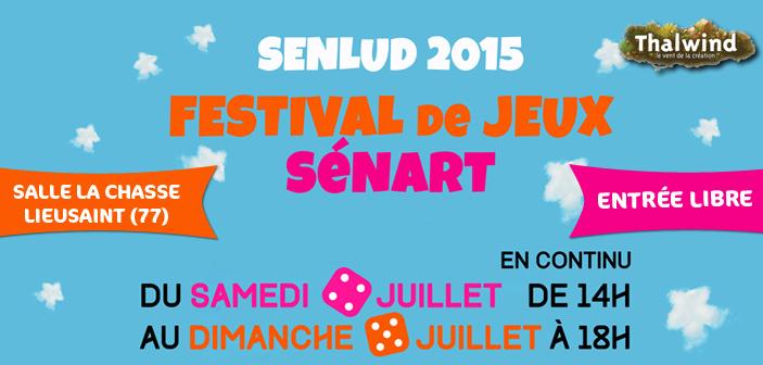 SenLud - Festival de jeux Sénart