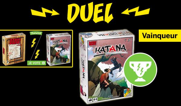 Katana - Vainqueur du Duel contre Bang