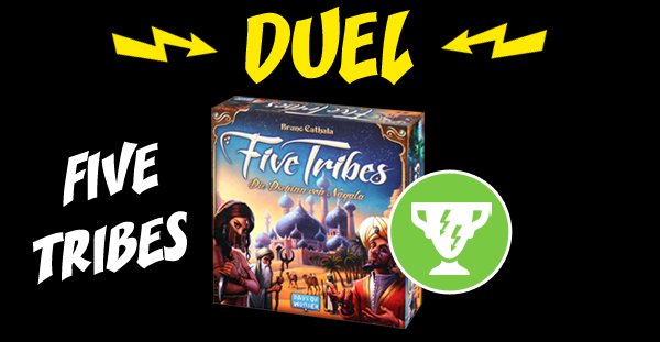Five Tribes reçoit le trophée Duel